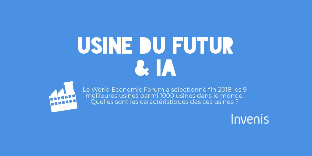 [Infographie] Usine du futur & IA
