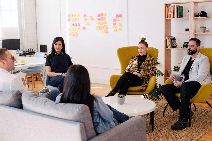 Equipe marketing business data
